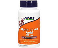 Альфа-липоевая кислота Alpha Lipoic Acid 250 mg 120 капсул