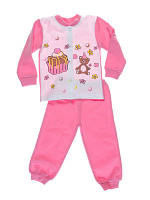 Пижама для девочки Niso Baby Торт розовая (рост 92см)