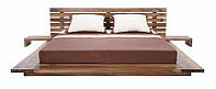 Кровать двуспальная из массива ясеня