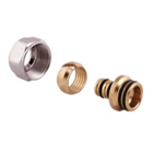 Фитинг для пластиковой и металлопластиковой трубы. * 24х1,5-16х2 Icma