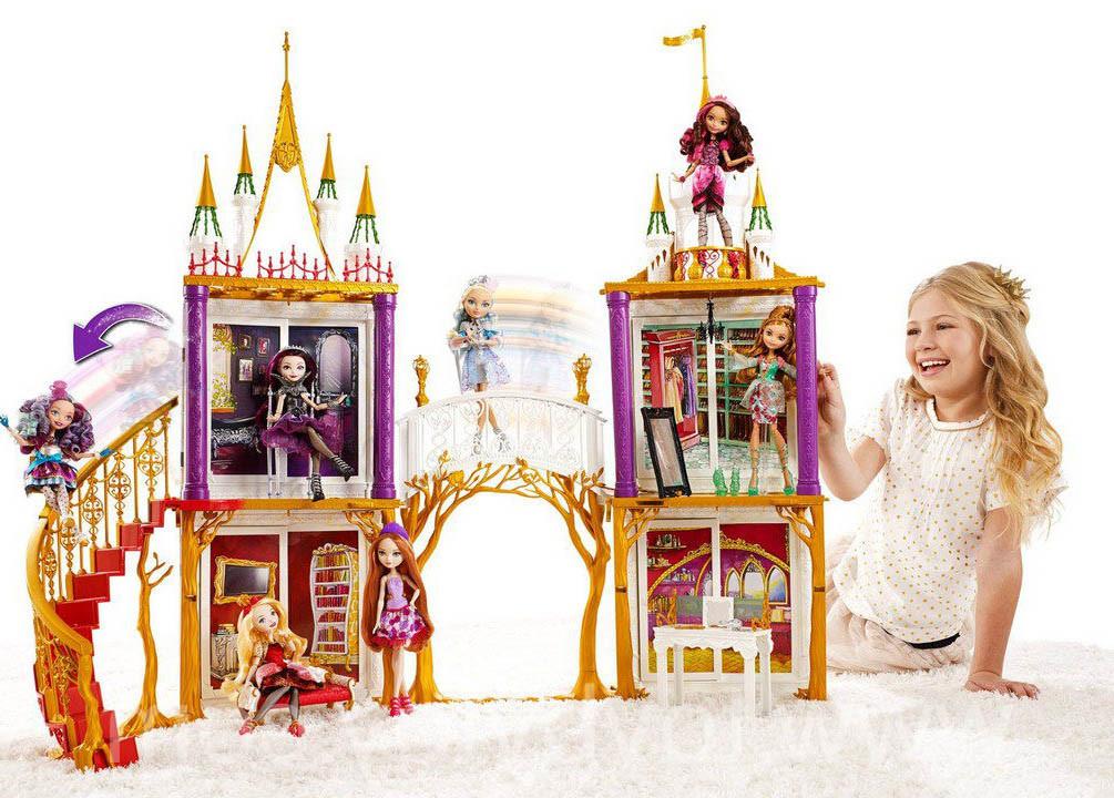 Куклы эвер афтер хай видео домик