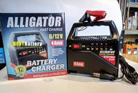Зарядное устройство Alligator AC801 6/12В, 4А