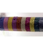 _Скотч декоративный 331 цветной 10шт/уп глиттер в тубе