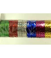 _Скотч декоративный 333 цветной 12шт/уп голограмма