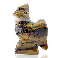 Тигровый глаз, статуэтка петух, 151ФГТ