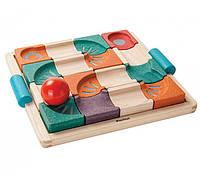 Деревянная игрушка Балансирующий лабиринт с шаром, PlanToys
