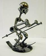 "Техно-арт статуэтка ""Лыжник"""