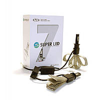 "Комплект LED ламп F7 SuperLed H11 12-24V chip ""OSRAM"""