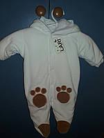 Комбинезон-человечек велюровый на махровой подкладке, фото 1