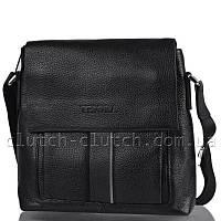 Мужская сумка через плечо Tesora 3918 черная