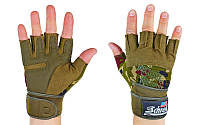 Перчатки для тренажерного зала Schiek с жестким напульсником