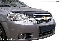 Дефлектор на капот Chevrolet Aveo 2006 - 2011 седан