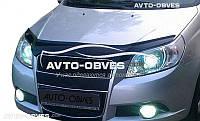 Дефлектор на капот Chevrolet Aveo 2008-2012 H/B