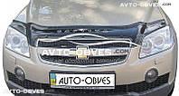 Дефлектор на капот Chevrolet Captiva 2006-2012