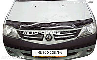 Дефлектор на капот для Dacia Logan 2008-2012