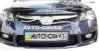 Дефлектор на капот Honda Civic 2006 - 2012 седан