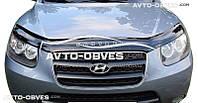 Дефлектор на капот для Hyundai Santa Fe 2006-2010