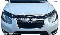 Дефлектор на капот для Hyundai Santa Fe 2010-2012
