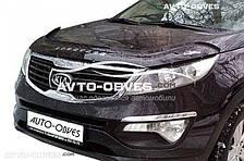 Дефлектор на капот Kia Sportage 2010-2016