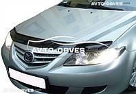 Дефлектор на капот Mazda 6 2003-2007