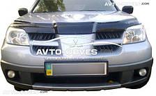 Дефлектор капота Мітсубіші Аутлендер 2003-2007