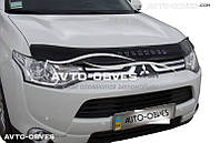 Дефлектор на капот для Mitsubishi Outlander 2015-2017 Vip Tuning