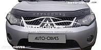 Дефлектор на капот Mitsubishi Outlander 2007-2010
