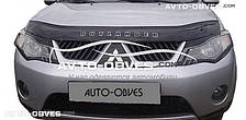 Дефлектор на капот Мітсубіші Аутлендер 2007-2010