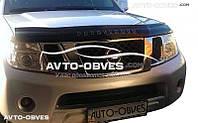 Дефлектор на капот для Nissan Pathfinder 2010-2014 Vip Tuning
