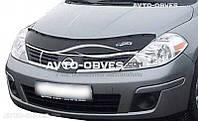 Дефлектор на капот Nissan Tiida 2007-2014