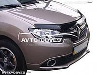 Дефлектор на капот Renault Logan MCV 2012 - …