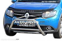 Дефлектор на капот Renault Sandero Stapway 2013-...