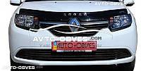 Дефлектор на капот для Renault Logan MCV 2012 - …
