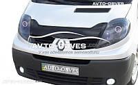 Дефлектор на капот Renault Trafic короткий вариант