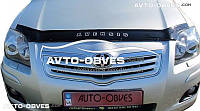 Дефлектор на капот Toyota Avensis с 2003-2008 г.в.