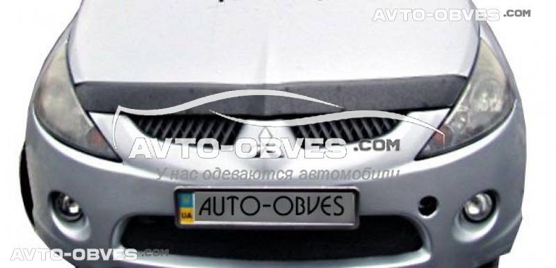 Дефлектор капота для Mitsubishi Grandis 2004-2011