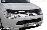 Дефлектор капота для Mitsubishi Outlander 2015-2017 Vip Tuning