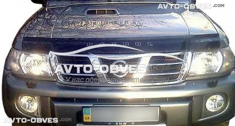 Дефлектор капота для Nissan Patrol 1998-2010