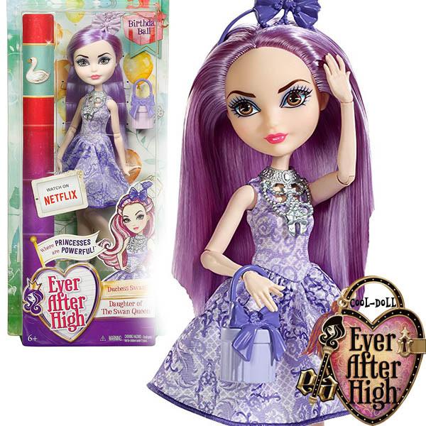Кукла Ever After High Birthday Ball Duchess Swan Эвер Афтер Хай Дачес Свон День Рожденья Именинный бал