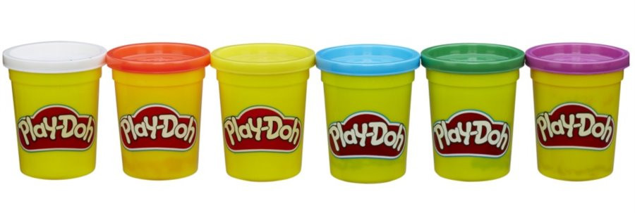 Play-Doh - Набір 6 баночок