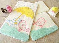 Набор ковриков (для ванной и туалета) №9010