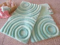 Набор ковриков (для ванной и туалета) №9014
