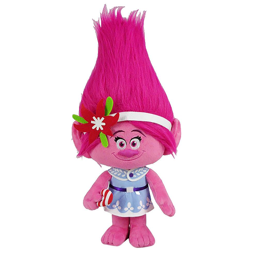 Dreamworks Принцесса Розочка плюшевая 70 см Holiday Greeter-Poppy with Candy Cane