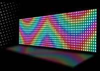 Бегущая строка 167*40 RGB+WI-FI, светодиодная строка с цветными диодами, электронное табло, светодиодный экран