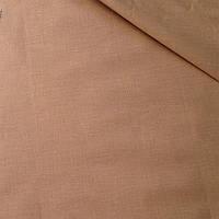Лоскуток. Бязь коричневого цвета № 412  65*160