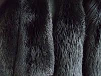 Шкуры лисы крашеные ( черные )