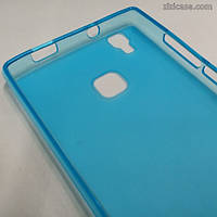Силиконовый чехол для Doogee X5 Max (голубой)