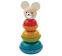 Деревянная игрушка Пирамидка, PlanToys