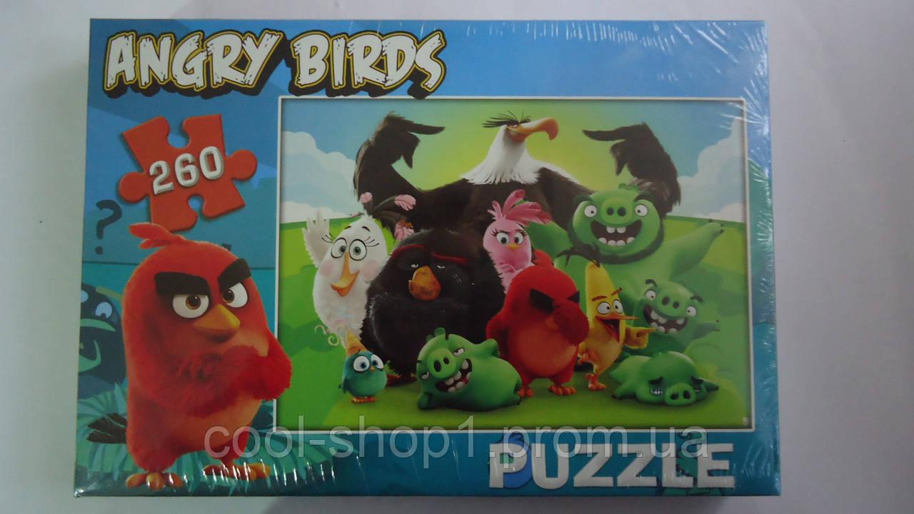 "Пазлы ""Angry Birds"",260 ел,330х230 мм,Enfant.Детские пазлы 260 елементов.Пазли дитячі на 260 елементів .Пазлы  - Интернет-магазин ""Cool shop"" в Закарпатской области"