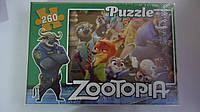 """Пазлы """"Zootopia"""",260 ел,330х230 мм,Enfant.Детские пазлы 260 елементов.Пазли дитячі на 260 елементів .Пазлы дет"""